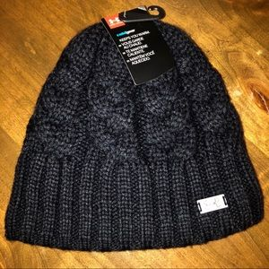 a3575c8f5bc Under Armour. NWT Under Armour Black Cableknit Beanie
